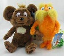 Dr. Seuss The Lorax Plush Toy Baby Gift set of 2