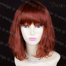 Classic Style SOFT Fox Red  Ladies Wigs skin top Medium wig WIWIGS UK