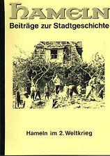 Rollfing, Hameln im 2. Weltkrieg, WW2, Beiträge Hamelner Stadtgeschichte VI 1991