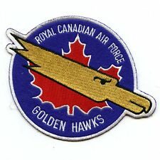 RCAF CAF Canadian Golden Hawks Squadron Colour Crest Patch 1