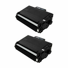 2 Pk Brother DCP-L5600DN DCP-L5500DN MFC-L6900DW MFC-L6800DW Black Toner TN-850