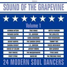 SOUND OF THE GRAPEVINE VOL 1 Various NEW SEALED MODERN SOUL NORTHERN CD R&B