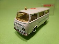 MAJORETTE 244  VW VOLKSWAGEN T2 AMBULANCE - WHITE 1:60 - VERY GOOD IN BOX
