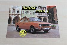 147046) Skoda 105 S L Prospekt 198?