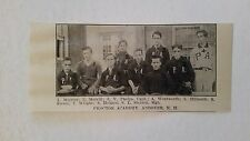 Proctor Academy Andover & St. Malachy's School  1910 Baseball Team Picture SP