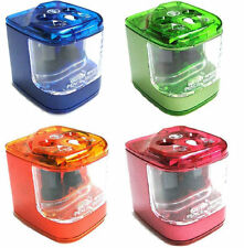Jakar Double Hole Electric Battery Operated Pencil Sharpener - Random Colour