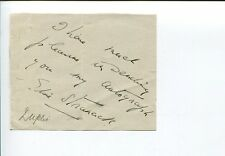 Elsie Stranack Broadway Theater Star Signed Autograph