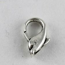 20pcsTibetan Silver dolphin lobster clasp Clasp33