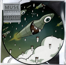 """MUSE reapers 7"""" PICTURE DISC exclusive RSD 2016"""