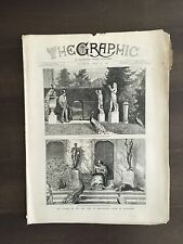 """""""THE GRAPHIC"""" (A Beautifully Illustrated British Weekly Newspaper)-Apr. 30, 1881"""