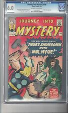 Journey Into Mystery #100 CGC 6.0 OW/White Pages Kirby Art Mr. Hyde Appearance