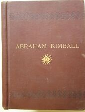 C. C. Lord * Abraham Kimball New Hampshire writer poet 1892 first edition book