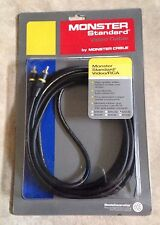 Monster Cable Standard Video 1 RCA Cable 4 Meter 13+ Feet Length NEW SV1R-4M