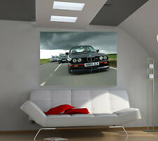 "BMW M3 E30 Huge Art Giant Poster Wall Print 39""x57"" px85"
