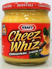 Kraft Cheez Whiz Original Cheese Dip 15 oz