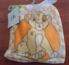 "30'' BY 30'' BABY BLANKET ""SIMBA "" FROM THE LION KING / MADE DY DISNEY/"
