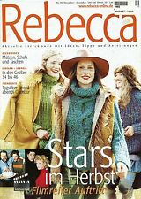 Rebecca No. 20 GGH Knitting Pattern Magazine - 26 designs Men & Women in English