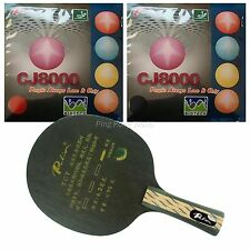 Pro Combo Racket, Palio TCT Blade with 2x Palio CJ8000 (BIOTECH) 36-38° Rubbers