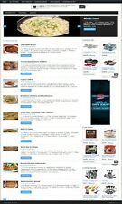 TURNKEY RECIPES MEMBERSHIP WEBSITE BUSINESS FOR SALE! MOBILE RESPONSIVE DESIGN