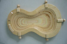 Violin making tool-wood cradle for string instruments luthier