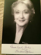 6x4 Hand Signed Photo of Coronation Streets Thelma Barlow - Mavis  Dinnerladies.