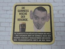 Beer Collectible Coaster    GUINNESS Brewing Stout ~*~ Funny Guy With Big Ears