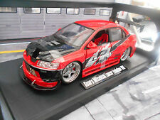 MITSUBISHI LANCER EVO VIII 8 RED ROSSO Sean Movie Cinema TV Fast & Furious Jada 1:18