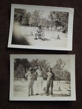 VTG 1940's PHOTOS OF MILITARY MEN WITH A PEPSI COLA ADVERTISING TIN COOLER DRUM?