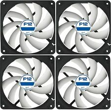 4 Paquete De Arctic F12 120mm PC Case Fan-Rev 2 silenciosa, de alto rendimiento