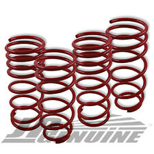 SUSPENSION COIL LOWER LOWERING SPRINGS SET RED - TOYOTA COROLLA AE86 84-87