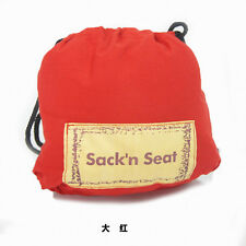 KisKise Sack'N Seat Baby Child Portable High Chair Seat Cover red