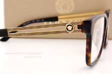 Brand New VERSACE Eyeglass Frames 3218 5181 SAND HAVANA Men 100% Authentic SZ 55