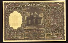5000  rs indian  B  Ramarao  fancy  note ....