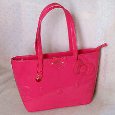 HelloKitty Handbag Tote Shoulder Bag 2017  New  Pu Bow Hot Pink