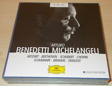 THE ART OF ARTURO BENEDETTI MICHELANGELI-MOZART/DEBUSSY-8xCD 2010-NEW & SEALED