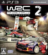 Used PS3 WRC 2: FIA World Rally SONY PLAYSTATION 3 JAPAN JAPANESE IMPORT