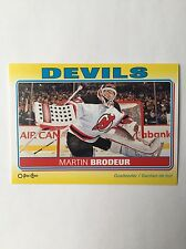 2012-13 O-Pee-Chee Martin Brodeur Sticker S-61