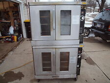 Hobart Double Stack Convection Oven Natural Gas