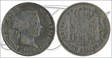 España - Monedas Isabel II- Año: 1862 - numero 00524 - MBC / MBC+ 20 Reales 1862