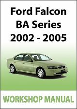 FORD FALCON BA Series WORKSHOP MANUAL: 2002-2005