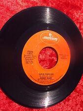 BOBBY BARE, LOVE FOREVER/WHAT AM I GONNA DO  MERCURY RECORDS 45