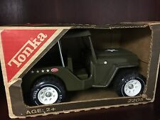 VIntage Tonka Military Army Jeep in the Box