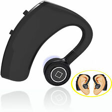 Bluetooth HD Stereo Headset Earpiece for IOS Android Motorola LG ZTE ASUS Phone