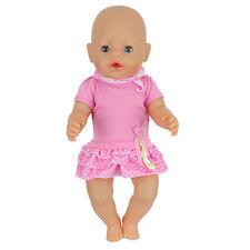 jumpsuits dress Doll Clothes Wearfor 43cm Baby Born zapf (only sell clothes )
