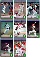 FREE* 1975 WORLD SERIES CARD SET CINCINNATI REDS BOSTON RED SOX ROSE BENCH FISK