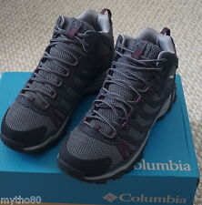 NEW COLUMBIA HELVATIA MID WATERPROOF HIKING BOOTS WOMEN SZ 8
