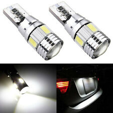 2x T10 501 194 W5W 5630 LED 6 SMD CANBUS ERROR FREE Car Side Wedge Light Bulb