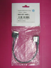 ORIGINALE VW MEDIA IN iPod iPhone Cavo Adattatore MDI 000 051 446 L