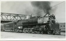 6A957 RPPC 1940 UNION PACIFIC RAILROAD TRAIN ENGINE #832 DENVER CO