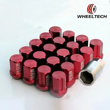 20pcs Red Aluminum tuner M12x1.5 35mm for HONDA FORD TOYOTA KIA Wheel Lug Nuts